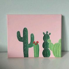 easy painting ideas on canvas; painting ideas on canvas for beginners; canvas painting ideas for kids. Easy Canvas Art, Simple Canvas Paintings, Small Canvas Art, Cute Paintings, Easy Canvas Painting, Diy Canvas, Painting Art, Easy Art, Painting Tools