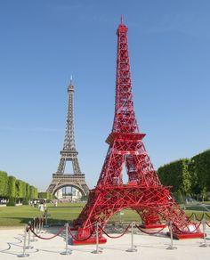Une seconde Tour Eiffel par Fermob