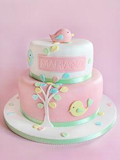 Bird Theme Cake