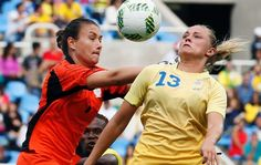 DAY 1: Women's Soccer - Sweden v South Africa