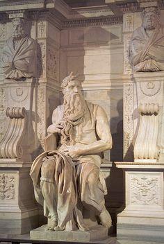 Moisés de Miguel Angel, 1509. Cualquier día se levanta, al menos es lo que pienso, esa sensación inquietante o tranquilizadora