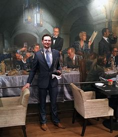 Our Sommelier of the Month for September 2016 is Romain Bourger, Head Sommelier at The Vineyard. Click this photograph to view a selection of questions which Romain has very kindly answered for us.