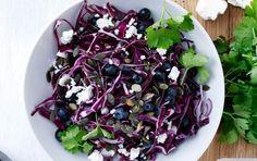 Skøn knasende salat.