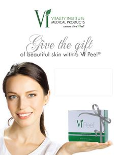 Give the gift of picture perfect skin this holiday season!
