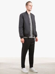 Bomber Jacket by Norse Projects Longsleeve and Pants by ATF Clothing