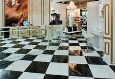 78 best Black and white floor tiles images on Pinterest | Home ideas ...