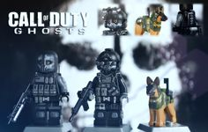 LEGO Call of Duty Ghosts: Keegan, Logan & Riley