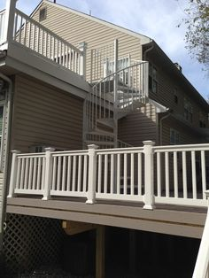 Best Azek Deck Stairs And Vinyl Railing Decks And Patios 400 x 300
