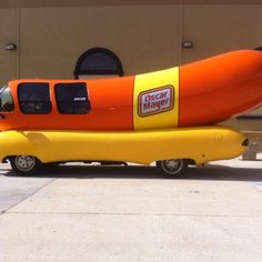 Madison WI - home to the Wienermobile.