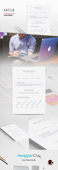 Resume Template Synnove Pinterest Resume writing, Template and