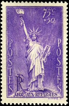 1936 French stamp