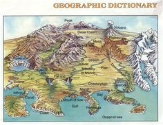 Worksheets World Geographic Features Worksheet Answers maps mountain range and world on pinterest geographic features