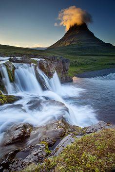 Kirkjufellsfoss, Iceland by Snorri Gunnarsson