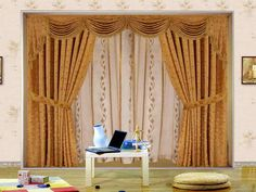 Interesting Drapery Valances