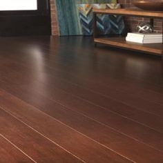 Home Decorators Collection Strand Woven Java in. W x 72 in. L Solid Bamboo Flooring - - The Home Depot Engineered Bamboo Flooring, Lumber Liquidators, Flooring Sale, Dark Wood Floors, Red Oak, Indoor Air Quality, Wood Species, Java, Home Deco