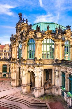Once a former palace, the Dresden Zwinger now serves as a museum in Dresden Germany. Experience Germany's fascinating history and culture and learn about one of Europe's most vibrant nations. European Vacation, European Tour, Black Forest Mountains, Nuremberg Castle, Dresden Germany, Visit Germany, Museum, Culture Travel, Beautiful Gardens