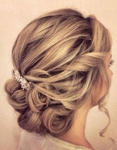 35 Wedding Updos For Medium Hair Hairstyles 2019