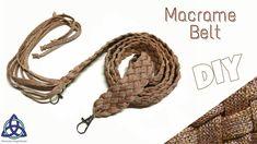 How to make Macrame Belt Tutorial - EASY  Bag Belt Making
