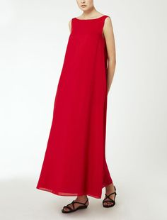 Silk and cotton voile dress $925.00  GESTO