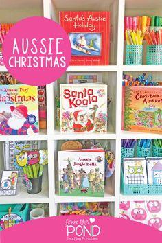 Christmas Crafts Around The World, Christmas Crafts For Kids To Make, Holidays Around The World, Christmas Books, Santa Christmas, Christmas Ideas, Xmas, Australia For Kids, Australia Crafts