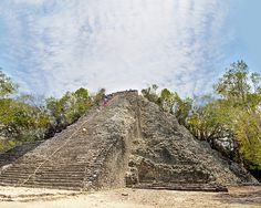 Explore the Coba Mayan ruins of Cozumel, Mexico.