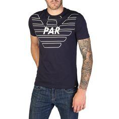 a5a287d9c Emporio Armani Navy Paris Eagle Story T-Shirt