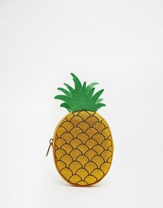 Skinnydip Pineapple Pencil Case