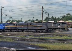 RailPictures.Net Photo: CR 4850 Conrail GG-1 at Enola, Pennsylvania by Sid Vaught