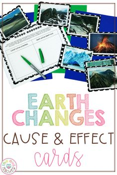 Cause and Effect Science Activity Teaching Social Studies, Teaching Writing, Teaching Science, Science Activities, Writing Activities, Teaching Tips, Science Ideas, Science Projects, Upper Elementary Resources