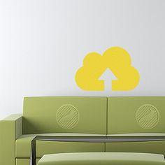 Cloud Upload Decal