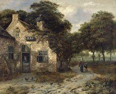 Een boerenwoning, Jan Wijnants, 1655 - 1684