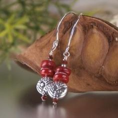Cody Sanderson Sterling Silver Red Coral Pendant Necklace (Jewelry)  postteenageliving...