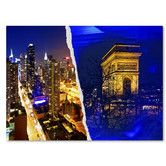 Found it at Wayfair - Cities at Night by Philippe Hugonnard Graphic Art on Wrapped Canvas