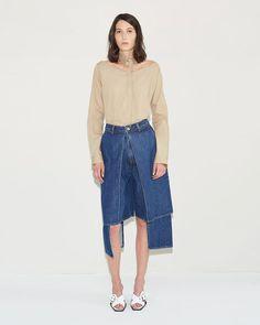 Aalto | Denim Shorts | La Garçonne