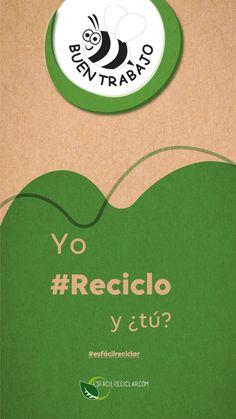 A poco no se siente padre reciclar 🤗. Abejita por buen trabajo 🐝. #EsFácilReciclar #UnaAccionUnMundo #PequeñasAcciones #DefiendeAlMundo #MiMundo #OneEarth #3R #Recicla #Reusa #Reduce #Reciclaje #SomosHeroes #Tierra
