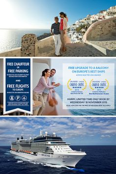 HURRY LIMITED TIME ONLY - Celebrity Cruises Free Upgrade, Flights & Transfers*! 10 nights Italy & Greek Isles sailing, FREE upgrade to Balcony Stateroom* from £1329pp on the Award Winning Celebrity Reflection  (T&Cs apply) #CelebrityCruises #Crusies #CelebrityReflection
