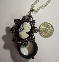 Hey, I found this really awesome Etsy listing at https://www.etsy.com/listing/175391812/magnifying-glass-jewelry-loupe-lady