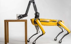 Must Watch a team of Boston Dynamics' SpotMini robot dogs pull a truck down the street Drones, Boston Dynamics, Robot Arm, Latest Technology, Technology News, Futuristic Technology, Robot Technology, Medical Technology, Energy Technology