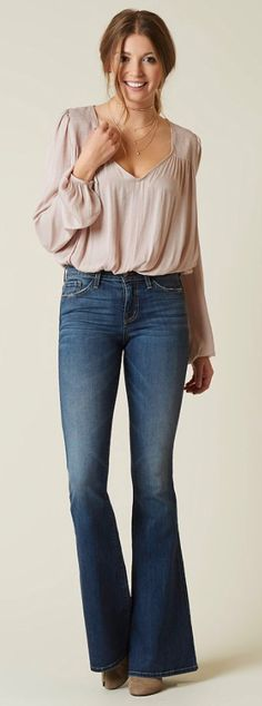 What to wear for the Holidays : Free People Smockin-n-Rockin Bodysuit | Buckle