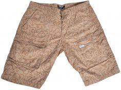 TRUKFIT Radiant Truk Shorts Tannin Tan Shorts. All Over Print. Multiple Pockets. Logo Tag. 100% Cotton.  #TRUKFIT #Apparel