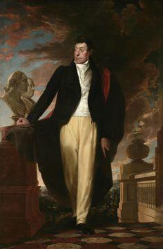 Le Marquis de La Fayette / Portrait de 1825.