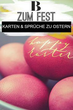 Ostergrüße - Karten und Sprüche zum Fest. Passend zum Ostergeschenk darf es auch mal eine Karte mit Ostergrüßen sein. Hübsche Motive und tolle Sprüche gibt es hier.#ostern #sprüche #zitate #osterwünsche Blog, Happy Easter, Homemade, Amazing, Blogging