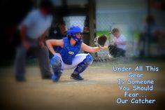 Fear this Fastpitch Softball, Softball Players, Softball Mom, Softball Catcher, Got Game, Basketball, Golf, Baseball Cards, Random