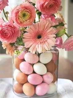 Perfect Easter flower arrangement