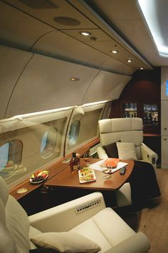One day, my private jet