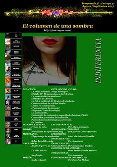 El volumen de una sombra http://www.ancrugon.com/ El Volumen de una Sombra. Temporada 5ª. Entrega 41ª Agosto / Septiembre 2015
