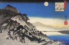 #Ando Hiroshige, pintor e gravador japonês, especialista na técnica Ukyio-e, em Hardecor Blog.  Ando_Hiroshige-.jpg2_620x406
