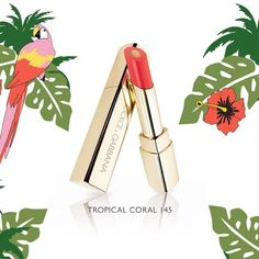 For Valentine's Day catch a Tropical Kiss! Choose your Passion Duo Lipstick among Tropical Spring Make Up Collection. #DGBeauty #DGTropicalspring #DGSanValentino  via DOLCE & GABBANA OFFICIAL INSTAGRAM - Celebrity  Fashion  Haute Couture  Advertising  Culture  Beauty  Editorial Photography  Magazine Covers  Supermodels  Runway Models