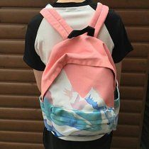 ALASKA BACKPACK  comes brand new  tags; pink blue white pastel mountain nature bag school back pack kawaii cute tumblr aesthetic