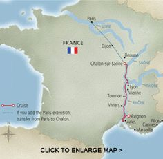 Europe River Cruise - Portraits of Southern France. 8 days/6 guided tours. Avignon to Chalon-sur-Saone. From $1856.